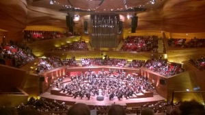 DR Koncerthuset, koncertsalen set fra anden balkon